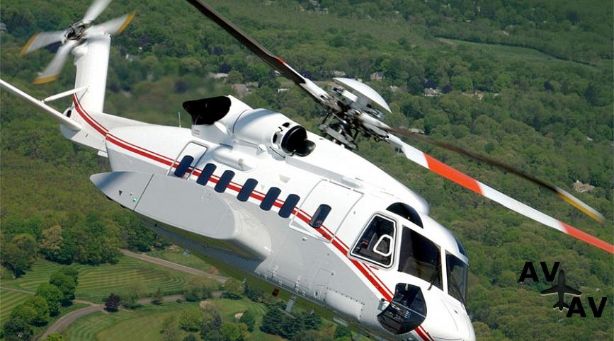 Аренда вертолета Sikorsky S92 в Германии