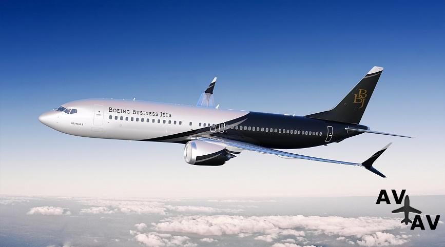 Арендовать частный самолет Boeing BBJ MAX 8 в Германии