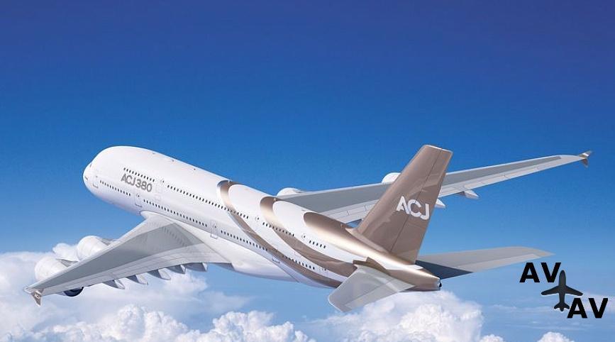 Арендовать частный самолет Airbus ACJ380 в Германии