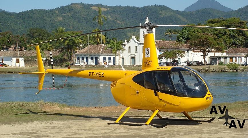 Аренда вертолета Robinson R44 в Германии